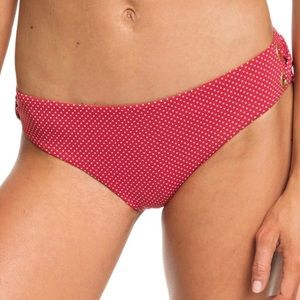 Roxy Beach Classic Swim Bottom Polkadot Size L